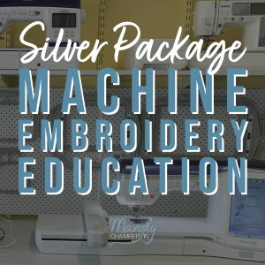 Machine Embroidery Education - Silver Package